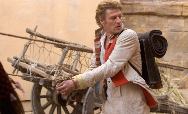 FROM ITV SHARPES CHALLENGE 23 and 24 April 2006 Sean Bean is back as the swashbuckling hero in SHARPE'S CHALLENGE.  A year after Wellington crushes Napoleon at Waterloo, dispatches tell of a local Maharaja, Khande Rao, who is threatening British interests in India.  Wellington sends Sharpe to investigate what turns out to be his most dangerous mission to date.  The fate of an Empire and the life of a General's daughter lie in one man's hands.... Pictured: SEAN BEAN as Richard Sharpe. For futher images please contact Patrick Smith on 0207 261 3474, patrick.smith@itv.com. This photograph is (C) ITV Plc and can only be reproduced for editorial purposes directly in connection with the programme or event mentioned above, or ITV. Once made available by ITV Plc Picture Desk, this photograph can be reproduced once only up until the TX date and no reproduction fee will be charged.  Any subsequent usage may incur a fee. This photograph must not be syndicated to any other publication or website, or permanently archived, without the express written permission of ITV Plc Picture Desk. Full Terms and conditions are available on the website www.itvpictures.com