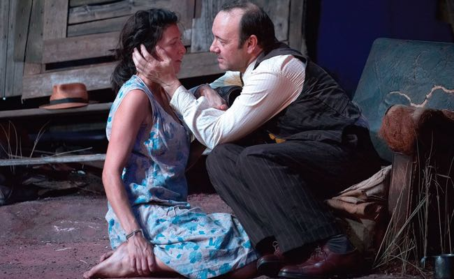 'Moon for the Misbegotten' Spacey, Eve Best x650