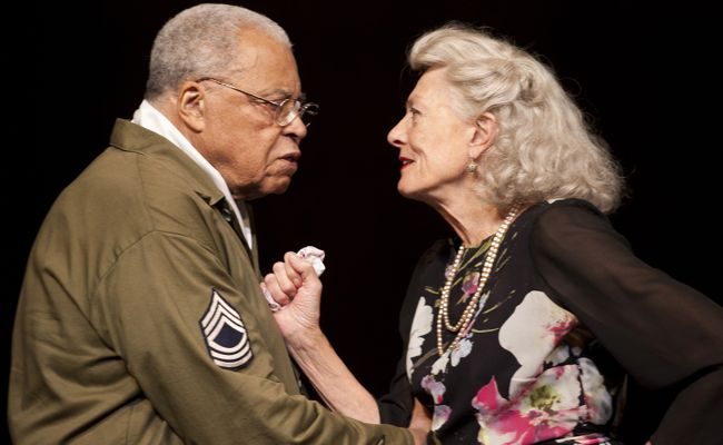 James Earl Jones and Vanessa Redgrave in 'Much Ado About Nothing' at the Old Vic through Nov. 30.