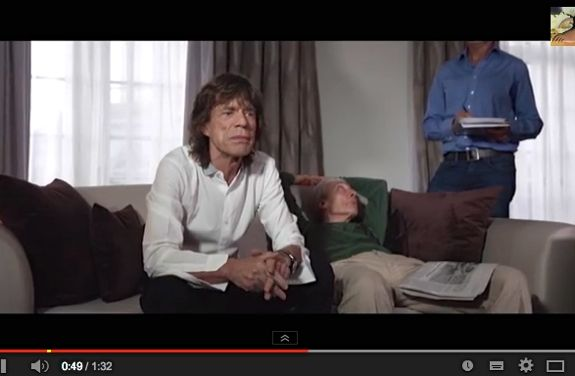 Mick Jagger promotes Python show x575
