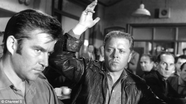 Michael Craig, Richard Attenborough in 'The Angry Silence'