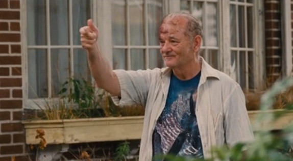 Bill Murray in 'St. Vincent', which opens in the UK Dec. 5, 2014