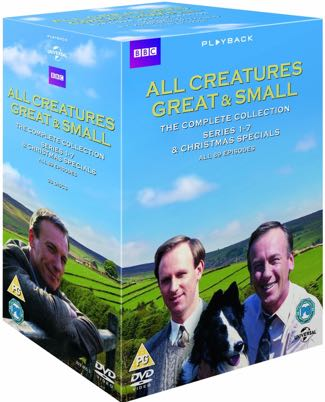 All Creatures complete DVD x325