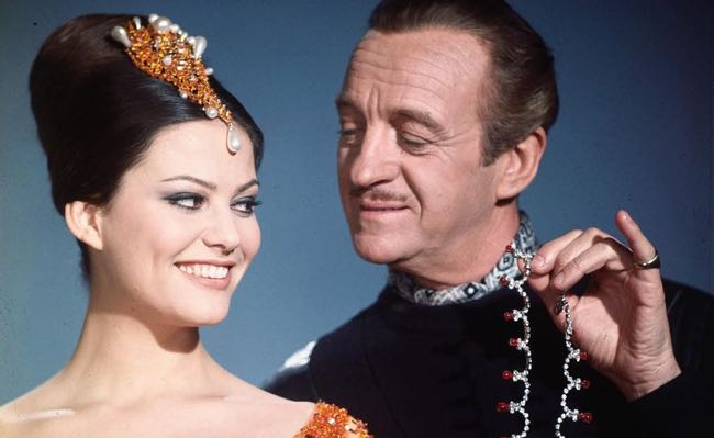 Pink Panther david-niven-and-claudia-cardinale x650