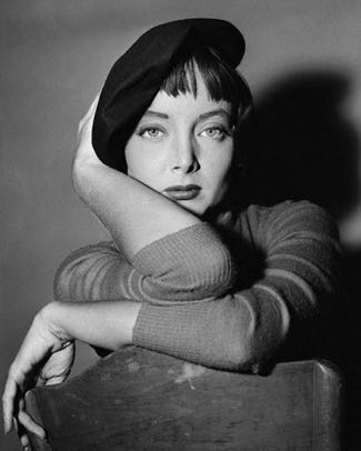 Actress Carolyn Jones